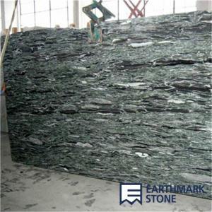 China Ocean Green Granite Slab on sale
