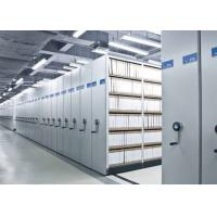 China Spacesaver Library high density Mobile File Shelving Racking System wholesale