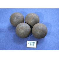 Quality High Surface Hardness 60-61hrc Grinding Media Steel Balls B3 D110mm for Chemical Industry for sale