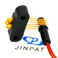 China 3 Circuits Separate Slip Ring 300rpm Working Speed For Automatic Equipment wholesale