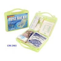 China Multifunctional Plastic First aid kit box for medicine , first aid equipment wholesale
