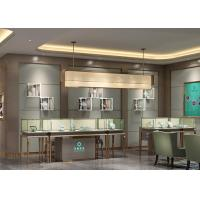 Quality Luxury Modern Jewelry Shop Display Cabinets / Jewellery Showroom Furniture for sale