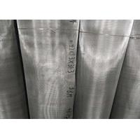 China AISI 316L Stainless Steel Fine Wire Mesh For Sand Screen Filtration wholesale