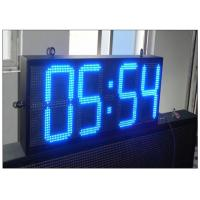 China 12 Inches Time / Temperature / Date Electronic LED Display Boards GPS Waterproof wholesale