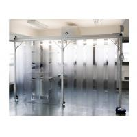 China SUS304 / SS304 Class 100 Pharmacy Clean Room With PVC Plastic Curtain Wall wholesale
