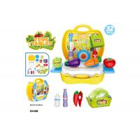 """China 10.3"""" Childrens Toy Kitchen Sets , Colorful Cooking Toys For Kids 32 Pcs wholesale"""