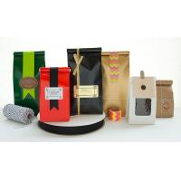 China Moistrue - Proof Coffee Packaging Bags Easy Tear Notch Various Shapes wholesale