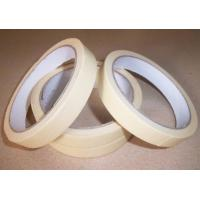 China 130 Degree High Temp Masking Tape Resisting Pressure Senstive , Coloured Masking Tape wholesale