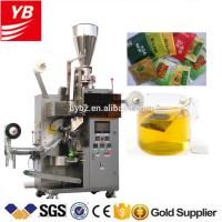 Buy cheap YB-180C automatic green tea bag with thread and tag packing machine 5g 10g from wholesalers
