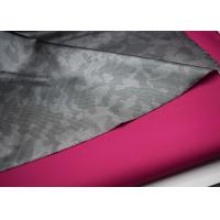 China Outdoor Waterproof Softshell Fabric , Polyester Twill Fabric Printed Film wholesale
