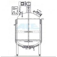 China Softgel Gelatin Stainless Steel Service Tank Blending Vessel For Pharmacy Production wholesale