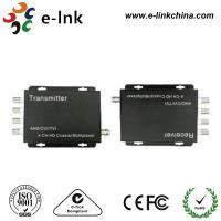 China AHD HDCVI HDTVI Analog Video Multiplexer , 4 Channel BNC Connector Audio Video Multiplexer wholesale