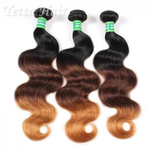 China Peruvian 7A Grade Virgin Hair / Double Weft  Human Hair Weave wholesale