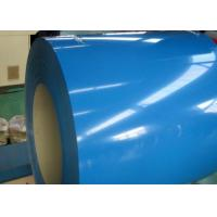 China 0.77 * 914mm Pre Painted Steel Coil, 3000 - 12000mm Length Color Coated Coil wholesale