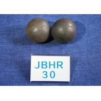 Quality Even Hardness 62-63HRC B2 D30MM Steel Balls For Ball Mill for Power Stations / Cement Plants for sale