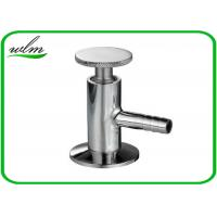 China Sanitary Hygienic Liquid Sampling Valve Stainless Steel For Dairy Process wholesale