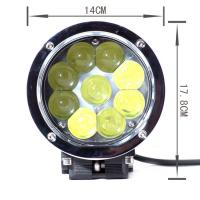 China 45w High Lumen Led Truck Headlights , 4D Lens Projector Cree Led Car Headlights wholesale