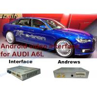 Buy cheap 2010-2015 AUDI Android Navigation System Video Interface Car Navigation Box With Play Store product