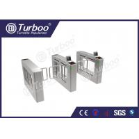 China Access Control System Pedestrian Barrier Gate , Stainless Steel Swing Gate wholesale