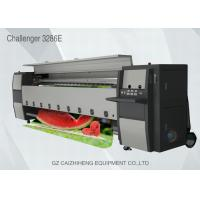 China Digital Industrial Inkjet Flex Banner Printer Seiko 508GS Head Challengr 3286E wholesale
