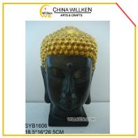Buy cheap Resin Buddha Head for Home Decoration from wholesalers