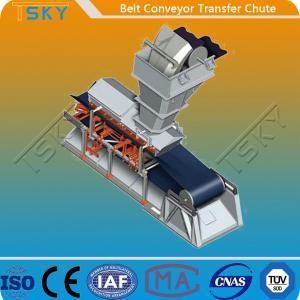 China Belt Conveyor Transfer Chute CE Batching Plant Spare Parts wholesale