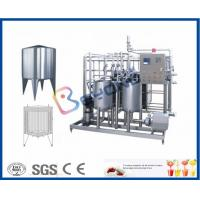 China Plate Type Small Scale Pasteurization Equipment , Yoghurt Dairy Milking Equipment on sale