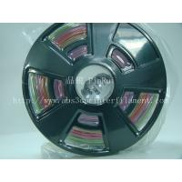 China Multicolor gradient 3d printer filament, one roll have the many colors ,new filament wholesale