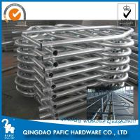 China Hot-Dip Galvanized Steel Tube Cattle Free Stall For Dairy Farm 4m Length wholesale