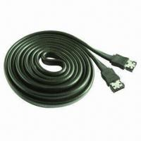 China SATA to eSATA II Type B Male Data Cable, 6ft (1.8m) Bulk Package wholesale
