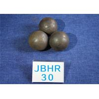 China Even Hardness 62-63HRC B2 D30MM Steel Balls For Ball Mill for Power Stations / Cement Plants wholesale