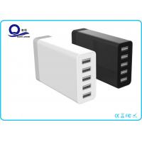 China 5 Port Multipe USB Charger Desktop Charging Station with 40W 8A for Smart Charge wholesale