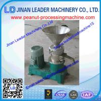 China commercial peanut butter machine for making peanut butter can be used home wholesale