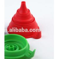 China food grade kitchen collapsible Plastic Funnel wholesale