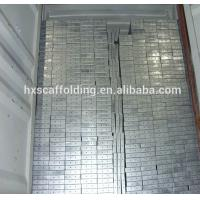 Buy cheap Adto 420*45*1800mm Galvanized Scaffolding Metal Planks with Hooks from wholesalers