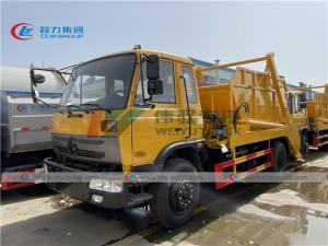 China 10cbm Roll Off Container Garbage truck Swing Arm Waste Collection Truck wholesale