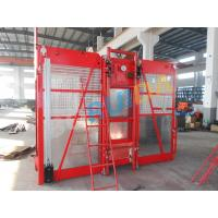 China 0 ~ 63m/min Curved Construction Passenger Hoist for Personnel and material wholesale
