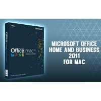 China Microsoft Office 2011 Home and Business for Mac- for Mac online activation - license wholesale