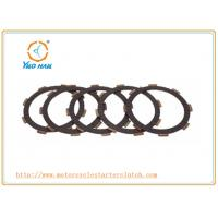China YH CG125 CG150 CG200 Clutch Disc Parts / Two Wheel Motorcycle Clutch Gear wholesale