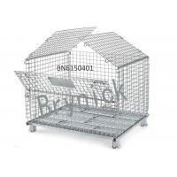 China BN6150107 Industrial Wire Containers , Folding Wire Mesh Container 32 X 24 Inch wholesale