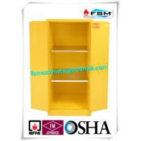 China Industrial Safety Storage Cabinets With Ventilation Hole For Combustible Drums wholesale