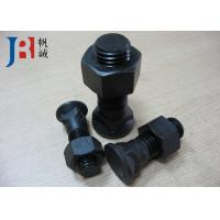 China Zinc Plated Plow Cutting Edge Bolts and Nuts 3F5108 / 02090-11060 for Excavator wholesale