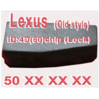 China Lexus 4D 60 Duplicable Key Chip 50XXX, Car Key Transponder Chip for Lexus wholesale
