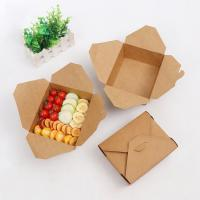 China Folding Takeaway Food Boxes Environmental Protection Various Size Available wholesale