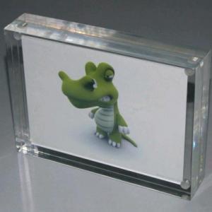 China Personalized Magnetic Acrylic Photo Frames For Family , Wedding wholesale