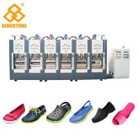 China Automatic EVA Slipper Garden Shoes Making Machine with 6 Stations wholesale