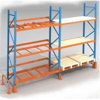 China Heavy Duty Long Span Metal Storage Shelves For Industrial Factory wholesale
