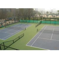China Green Colors PVC Coated Chain Link Fence For Sport Court Fence wholesale
