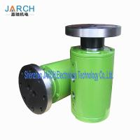 China Ss304 Stainless Steel with round Head Code Multiple Passages Flange connection Hydraulic Rotary Union wholesale