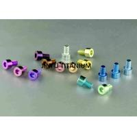 China High Tensile Titanium Socket Cap Screws With Long Service Life Grade 2 wholesale